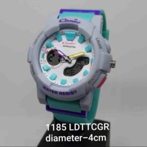 Jam Tangan Wanita Dual time Original Digitec Digital